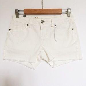 Lauren Conrad | White Denim Shorts